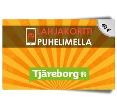 Tjäreborg 40€ lahjakortti