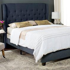 Safavieh Blanchett Upholstered Bed
