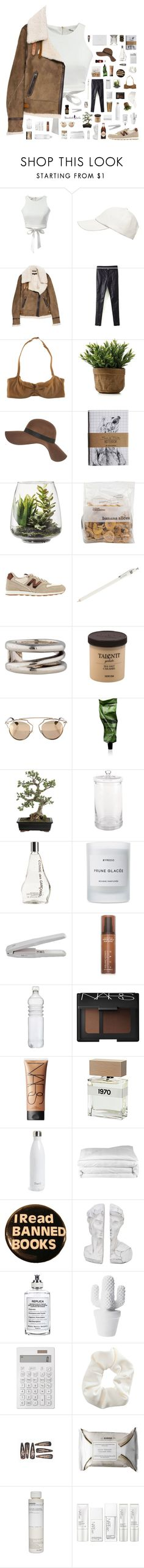 """""""Trap Queen"""" by blood-drops ❤ liked on Polyvore featuring Witchery, rag & bone, Cosabella, River Island, Threshold, New Balance, J.Crew, Tiffany & Co., Christian Dior and Aesop"""