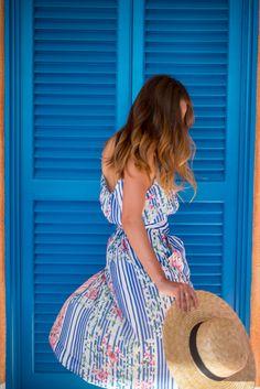 Floral Midi Dress - Gal Meets Glam