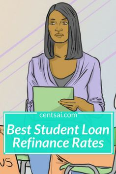 Looking to refinance your student loans? Check out CentSai's list of top student loan refinance companies including best student loan refinance rates. Best Student Loans, Apply For Student Loans, Federal Student Loans, Paying Off Student Loans, Student Loan Debt, Private Loans, Private Student Loan, Refinance Mortgage