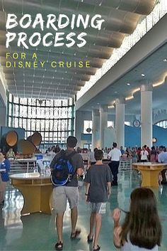 Taking a Disney cruise out of Port Canaveral? Here is everything you need to know about the boarding process for Disney Cruise.