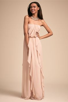 Cove Dress Nude in Bridal Party | BHLDN