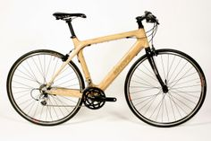 Wooden Frame bikes. We can special order these for you. Mountain and Road Bikes available in wood. Visit www.renovobikes.com to see images.