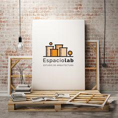 Os presentamos Espaciolab, una marca que se sale del molde del cemento.  #marca #branding #equilatera