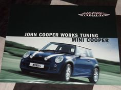 JOHN COOPER WORKS TUNING MINI COOPER SALES BROCHURE PROSPEKT 2003 ENGLISH RARE