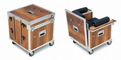 Road case chair