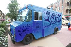 FOOD TRUCK DESIGN by Ariane Dray, via Behance