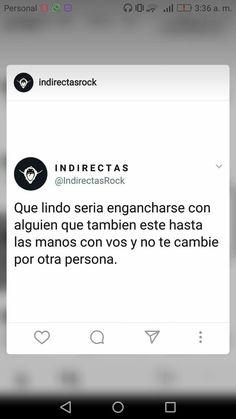 Nunca en la vida :< Hard To Love, Sad Love, Cute Love Quotes, Pretty Words, Spanish Quotes, Memes, Karma, Wise Words, Tumblr