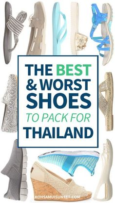 What Shoes to Wear in Thailand? The 5 best – and worst – types of shoes to wear in Thailand. Click through to read more: http://www.kohsamuisunset.com/what-shoes-to-wear-in-thailand/ via @kohsamuiguide