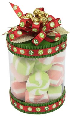 Diy Christmas Baskets, Christmas Decorations, Christmas Ornaments, Christmas Presents, Christmas Time, Xmas, Jar Crafts, Diy And Crafts, Gift Cake