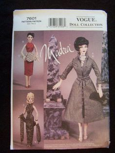 vogue patterns fashion dolls - Google Search