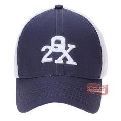Boné 20X Azul Marinho c  Tela e Velcro p  Regulagem - Bonnet 9afb45299a1