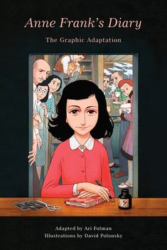 The diary of Anne Frank, written during Holocaust, is retold in graphic novel form.  GN ANN #book #nonfiction #ya #graphicnovel