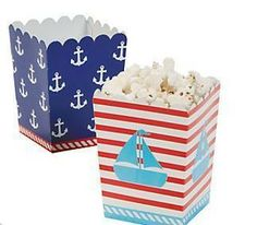 Popcornbox Seemann (12 Stück) DEKO & PARTY Popcornboxen
