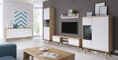 Details about living room furniture set glass cabinet tv unit stand display led lights shelf Scandinavian Style, Living Room Furniture, Furniture Sets, Grande Niche, Skandinavisch Modern, Cabinet Dimensions, D 40, Entertainment Center Decor, Sideboard Cabinet