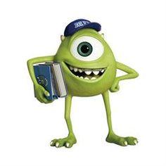 Walt Disney Monsters Inc Mike Cake Topper
