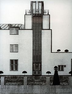 j o s e f h o f f m a n n A R C H I T E C T  stoclet house, brussels, 1905