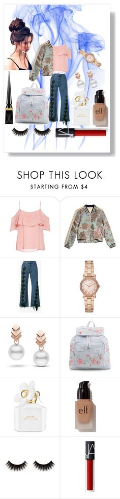 """""""More styles! ❤️"""" by habubzza ❤ liked on Polyvore featuring BB Dakota, Maje, Marques'Almeida, Michael Kors, Escalier, New Look, Marc Jacobs, e.l.f., Christian Louboutin and men's fashion"""
