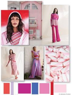 RESOURCES: Tabula Rasa, Maggie Marilyn, Carolina Herrera - Resort 2018, Portugal building and Candy photographer from Pinterest.