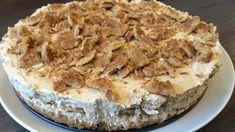 Stroopwafeltaart dé stroopwafel één feest - Simpele Recepten Vegan, High Tea, Apple Pie, Tiramisu, Camembert Cheese, Tart, Nom Nom, Cheesecake, Food And Drink