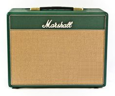 Marshall Amp C5 combo in Green Levant and biscuit weave fret