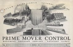 Elmer E. Woodward, modern pioneer of prime mover controls. on ...