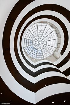 ☮ Unique modern architecture Black & white Guggenheim by ph4nn1, via Flickr #architecture ☮k☮