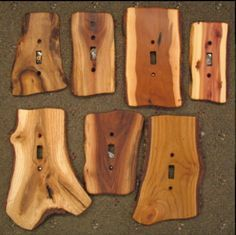 wohnen Switches, GFIs & Outlet Covers : Sisters Log Furniture, Handcrafted Western Gifts & Decor Is Woodworking Projects, Diy Projects, Woodworking Furniture, Woodworking Articles, Barn Wood Projects, Woodworking Classes, Woodworking Plans, Outlet Covers, Diy Interior