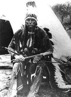 Quanah (aka Fragrance, aka Quanah Parker) - Comanche/Scots-Irish - circa 1890