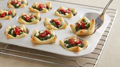 Need a fun vegetarian app for your party platters? Look no further--these creamy, cheesy treats are sure to please veggie-lovers and meat-eaters alike.