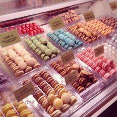 Macarons shop
