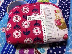 Bag ハンドメイドコスメポーチ、ケーキと花柄 インテリア 雑貨 Handmade ¥700yen 〆08月27日