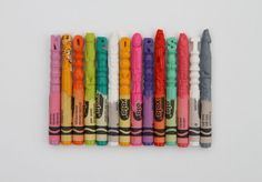 US-based artist Diem Chau has been making waves with her intricately carved works, that's for sure. Her Northwest Natives Alphabet Set takes 52 crayons, half representing all the 26 alphabet letters, and the other half of which stand for the corresponding word spelled with each letter. The Yuma myotis (or Vesper bat) is quite cute.