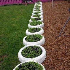 Beauty and Fresh Front Yard and Backyard Landscaping Ideas for 2019 – Tire Garden, Bottle Garden, Backyard Garden Design, Vegetable Garden Design, Backyard Landscaping, Landscaping Ideas, Vertical Garden Planters, Tire Planters, Recycled Garden