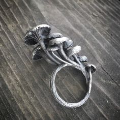 Mushroom patch ring by THEETHjewelry on Etsy  https://lfsoxford.co.uk