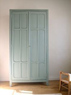 Wardrobe Armoire With Mirror - Foter Upcycled Furniture, Painted Furniture, Home Furniture, Colorful Furniture, Armoire Buffet, Wardrobe Dimensions, Cleveland House, Alcove Cupboards, Deco Kids