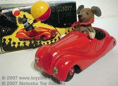 SCHUCO-SONNY toy car with mouse