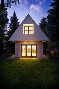A-FRAME! Loom 2one-Six in Aspen, Colorado. 9/2/2012 via @Architizer (Official)
