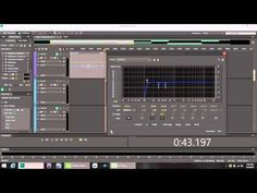 """Adobe Audition Tutorial :"""" Hip Hop Vocal Chain"""""""