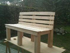 Pallet bench / panchina