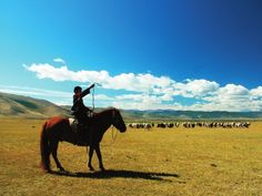 Pestře monotónní střed Mongolska (Mongolsko) | Lidé a Země