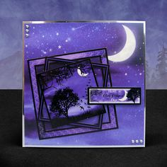 Twilight Kingdom - Hunkydory | Hunkydory Crafts Hunkydory Crafts, Luxury Card, Die Cut Cards, Heartfelt Creations, Fairy Land, Little Books, Hobbies And Crafts, Twilight Series, Cardmaking