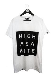 T-shirt with print, merch from the Norwegian band Highasakite. Made by: Black Rat Clothing - Oslo. Designer Siri Sveen Haaland.