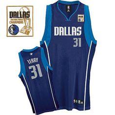 Mavericks 2011 Champion Patch  31 Jason Terry Blue Embroidered NBA Jersey ! 20.50USD 0286ce3d6