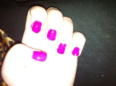 My at home gel manicure... Using gelous advanced nail gel coat. And out the door top coat.  Lets see how long it lasts me. Day one 3/17