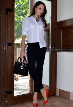What to Wear to Work [18 pics] | Fashion Inspiration Blog