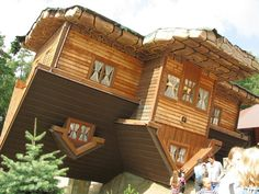 Upside Down House; Szymbark, Poland | 17 Impressively Surreal Buildings Around The World