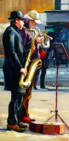 Jurij Frey: Musiker von Montmartre