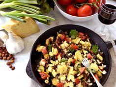 Gnocchi med pastasås från grönsakslandet (kock Ernst Kirchsteiger)